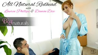Natural Busty Redhead Lauren Loves To Fuck